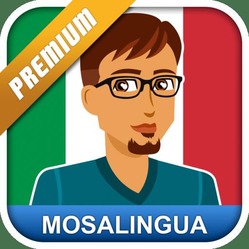 تطبيق تعليم الإيطالية | Learn Italian with MosaLingua | للأندرويد