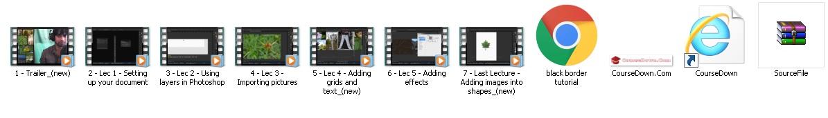 كورس فوتوشوب للمبتدئين | Adobe Photoshop Level 1 Photo Collage