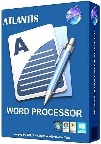 برنامج إنشاء الوثائق والمستندات البسيط   Atlantis Word Processor