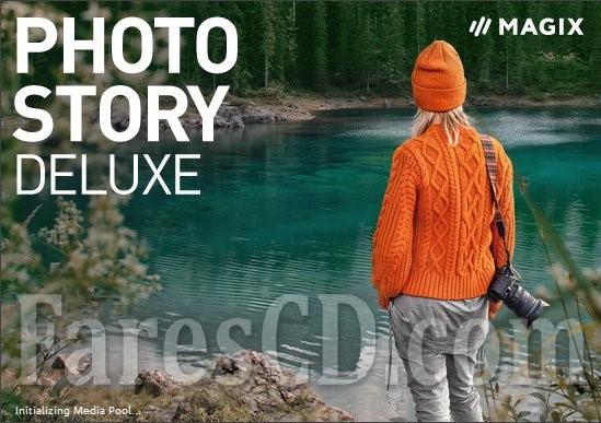 برنامج عمل الألبومات وتحرير الصور | MAGIX Photostory Deluxe 2021