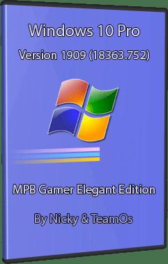 ويندوز 10 جيمر اليجنت 2020 | MPB Gamer Elegant Edition