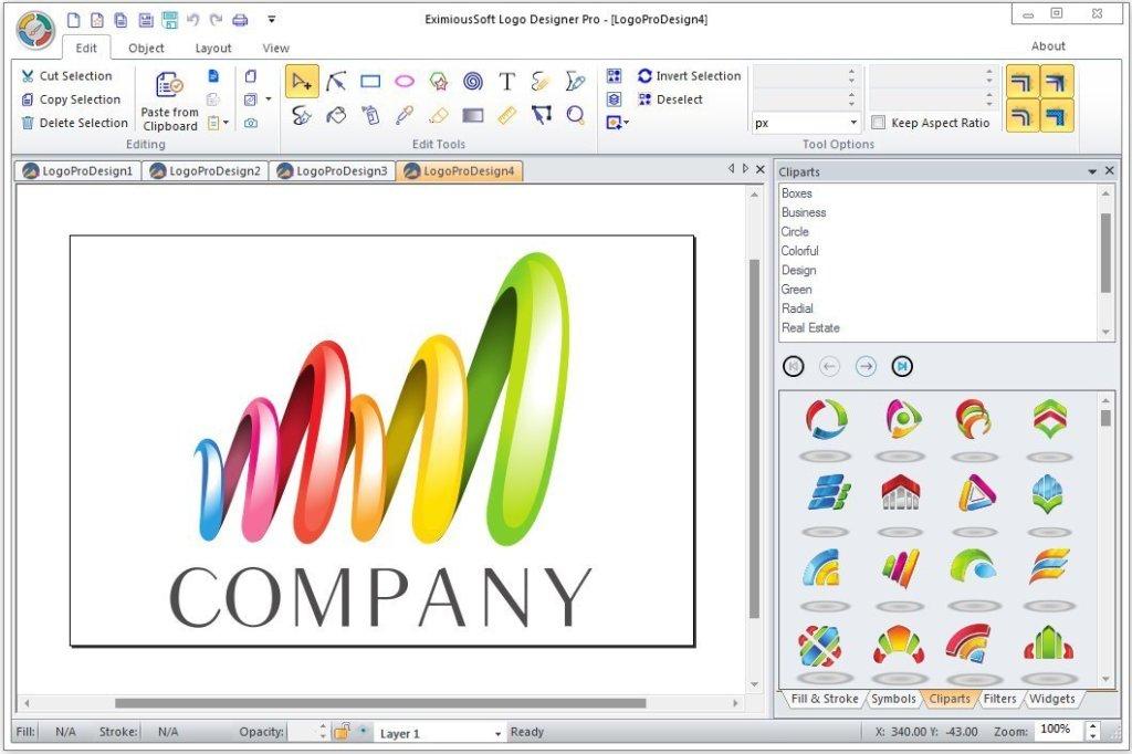 برنامج تصميم اللوجوهات | EximiousSoft Logo Designer Pro