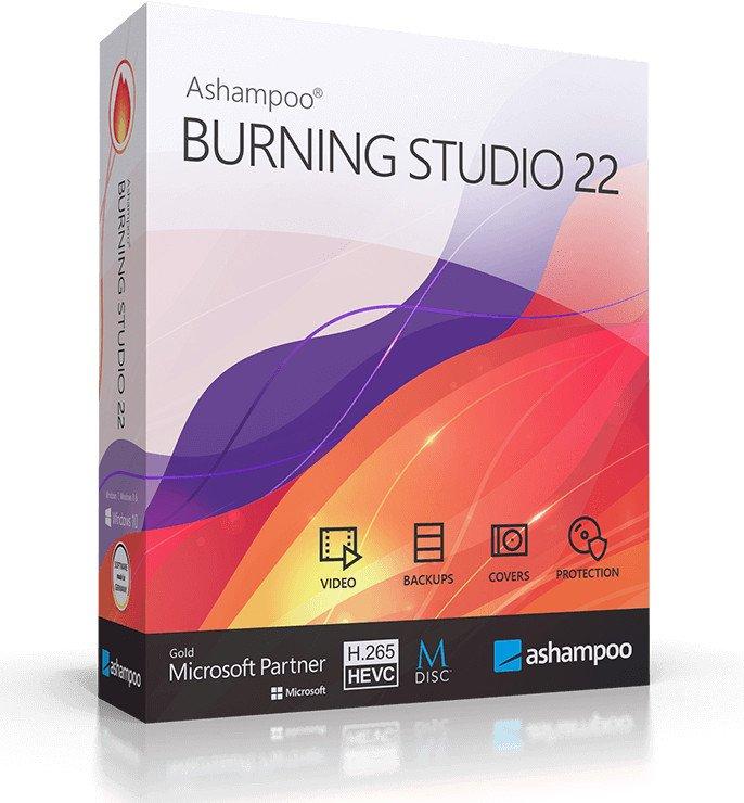 برنامج أشامبو لنسخ الاسطوانات 2021 | Ashampoo Burning Studio 22
