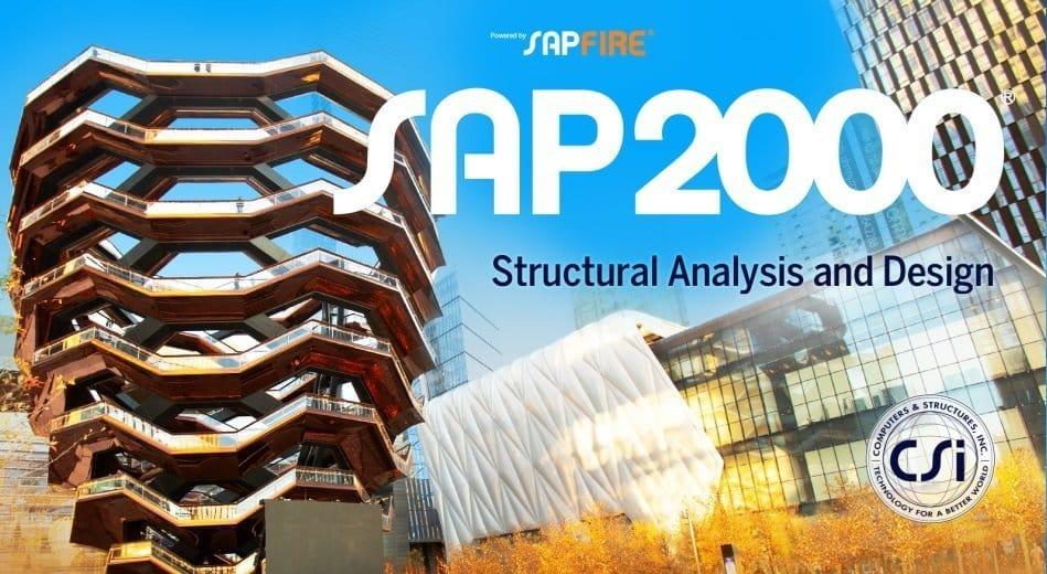 برنامج ساب 2000 للتحليل والتصميم الإنشائى | CSI SAP2000 Ultimate
