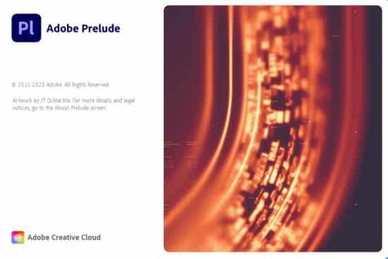 برنامج أدوبى بريلود 2020 | Adobe Prelude CC