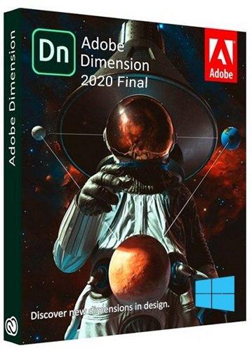 برنامج أدوبى دايمنشن 2021 | Adobe Dimension CC 2020