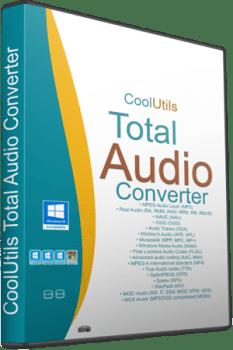 برنامج تحويل الملفات الصوتية | CoolUtils Total Audio Converter 5.3.0.241
