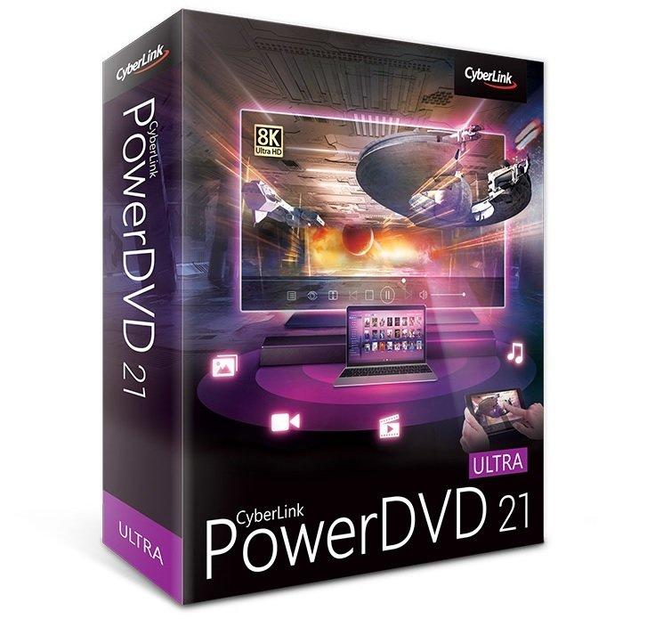 عملاق تشغيل اسطوانات ال دى فى دى | CyberLink PowerDVD Ultra 21