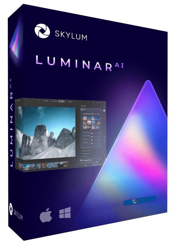 برنامج تحرير الصور بالذكاء الإصطناعى | Luminar AI
