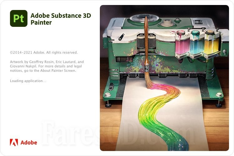 برنامج أدوبى للرسم ثلاثى الأبعاد | Adobe Substance 3D Painter