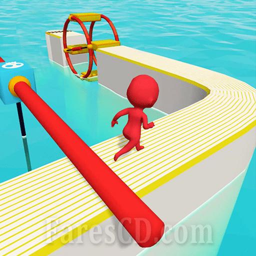 لعبة التسلية و الباركور   Fun Race 3D MOD   أندرويد
