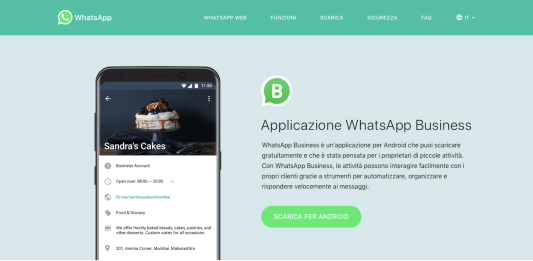 whatsapp business come funziona