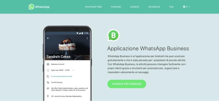whatsapp business come funziona