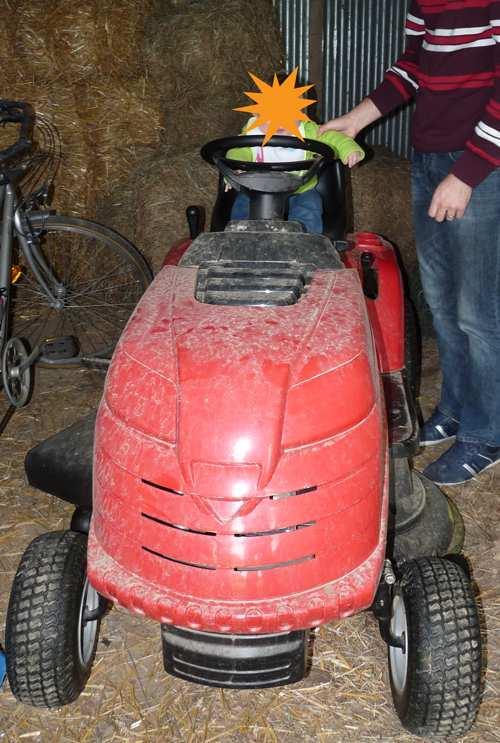 Mon beau tracteur tondeuse