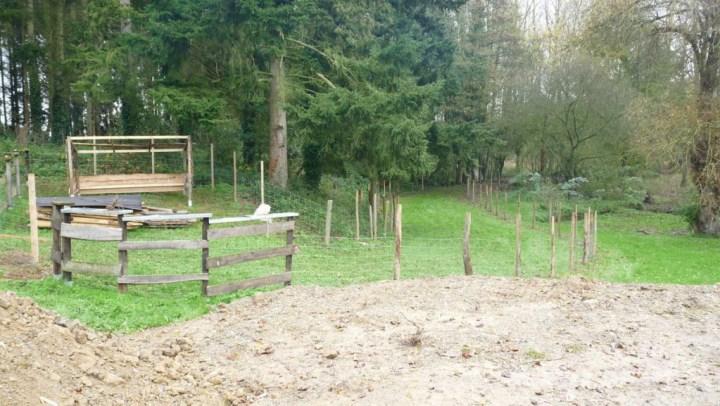 abris et enclos chèvre