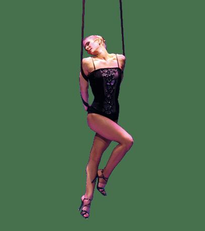 Sangles aériennes du cirque bouglione