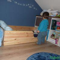Le lit au sol de Montessori, retour d'expérience