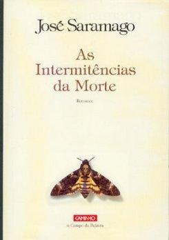 """La copertina originale de """"Le intermittenze della morte"""" di Josè Saramago"""