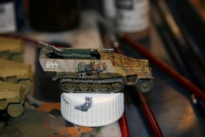 Panzer Lehr Sd Kfz 251/1 half-track (Right)