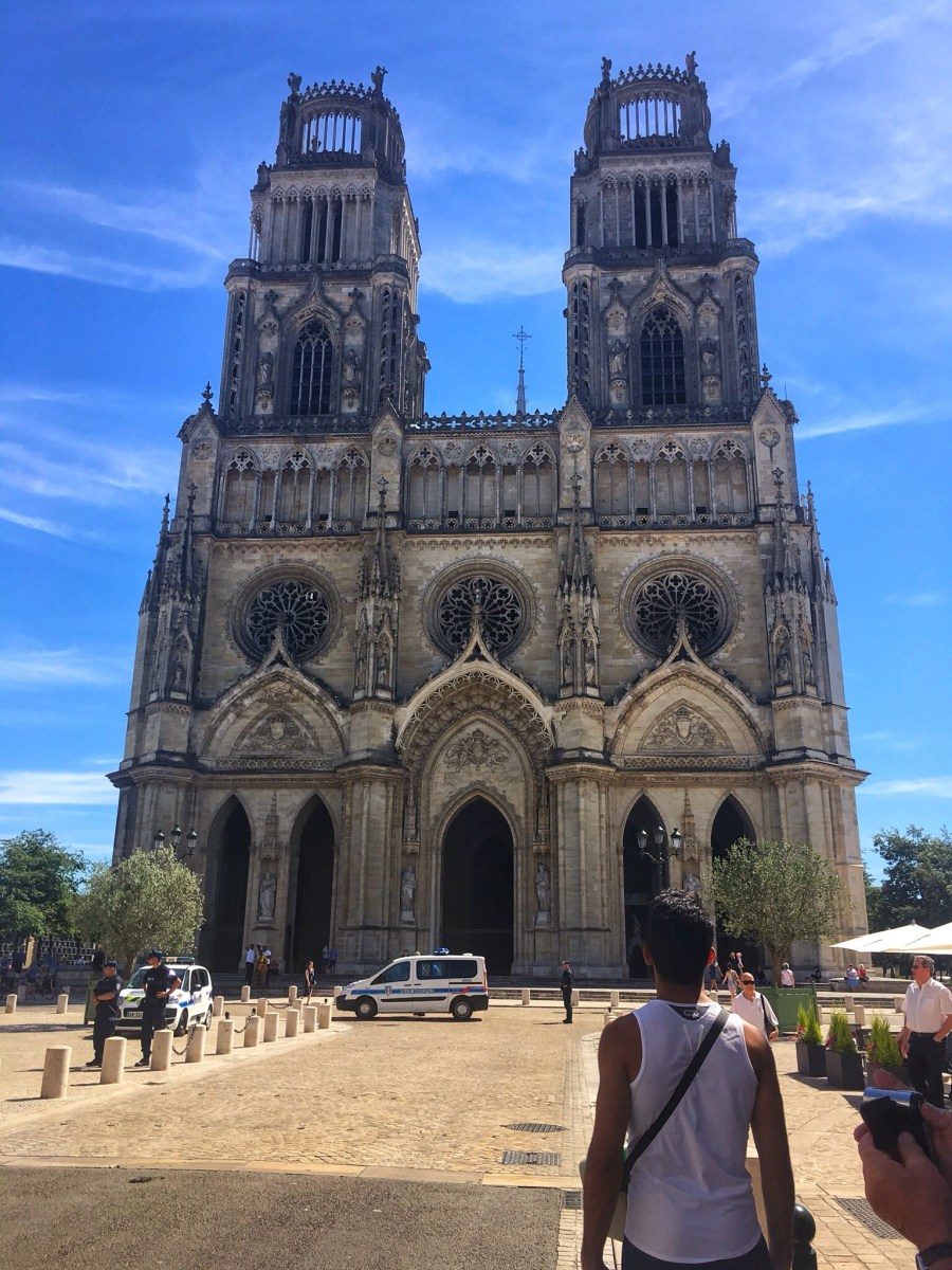 Orléans Cathedral, a stunning Gothic style for Joanne d'Arc