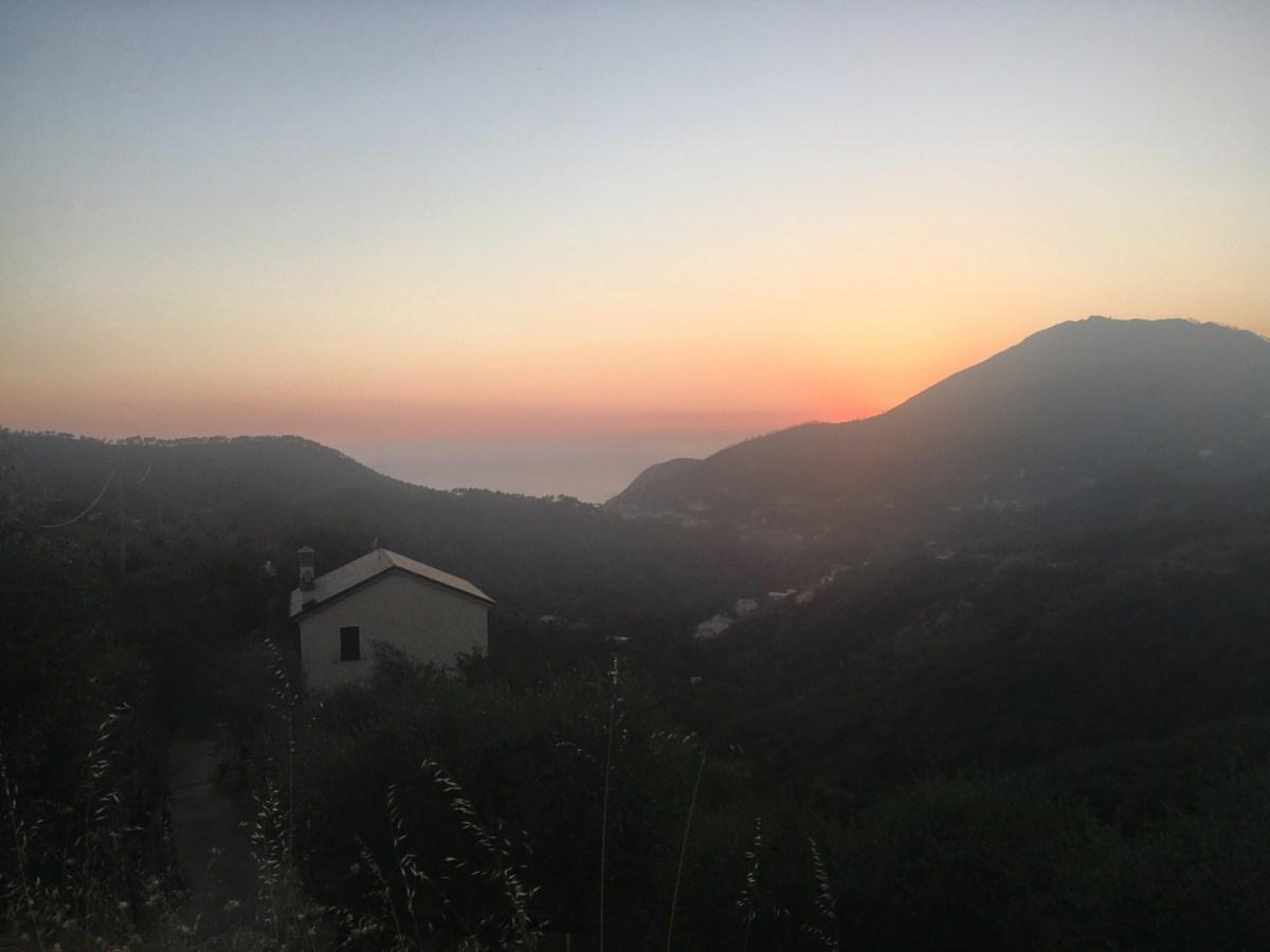 Ligurian sunset