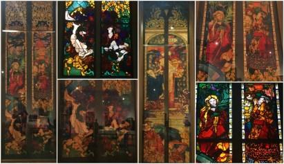 """a-collage-from-friburg-windows-jozef-mehoffer """"... A to Polska właśnie..."""""""