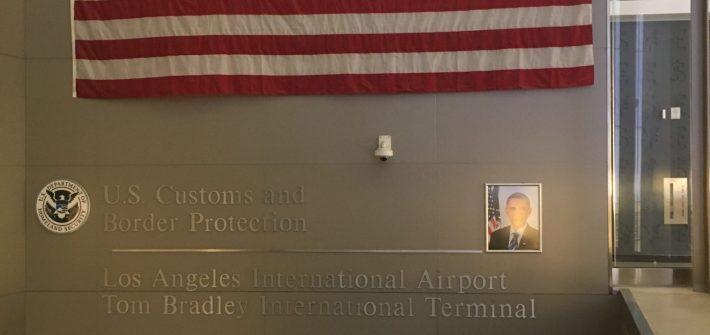 An American welcoming