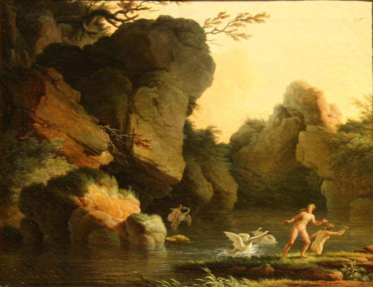 Henry d'Arles: Leda and the Swan, 18th century
