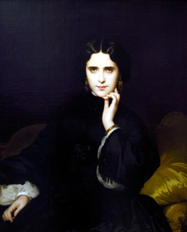 Amaury-Duval: Madame de Loynes, 1862