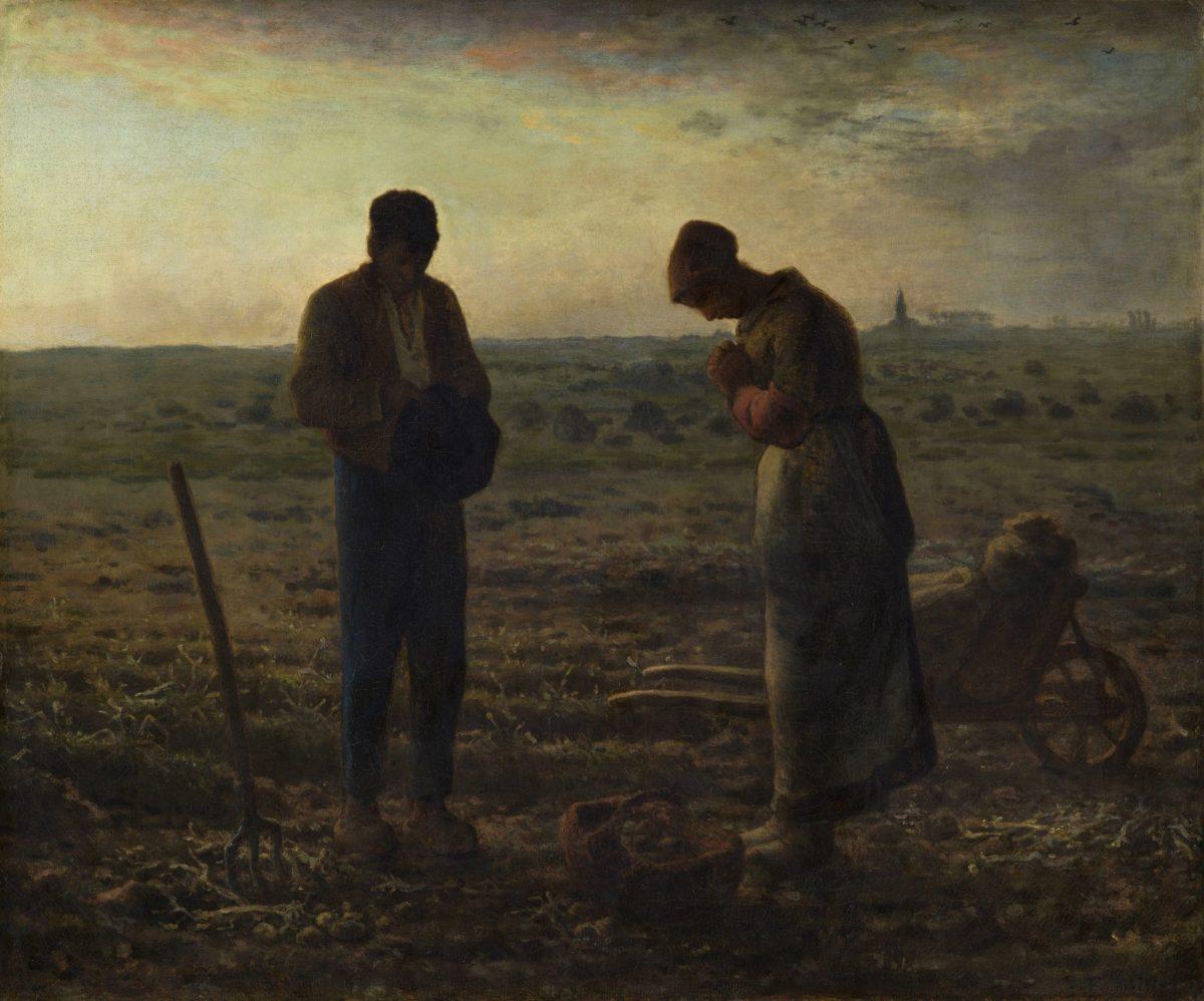 Jean-François Millet: The Angelus Prayer, 1859