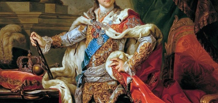 Marceli Bacciarelli, Portrait of Stanislaus Augustus Poniatowski in coronation robes
