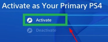 It is activated and you can play ps4 games of your friend on your PlayStation