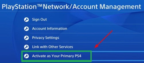activate Playstation network