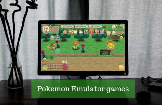 Pokemon emulators for PC