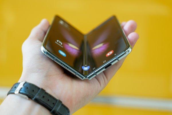 Foldable phone technology