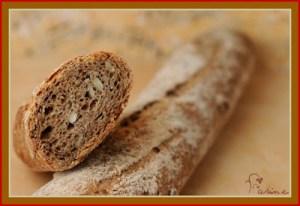 100% whole grain multigrain baguettes