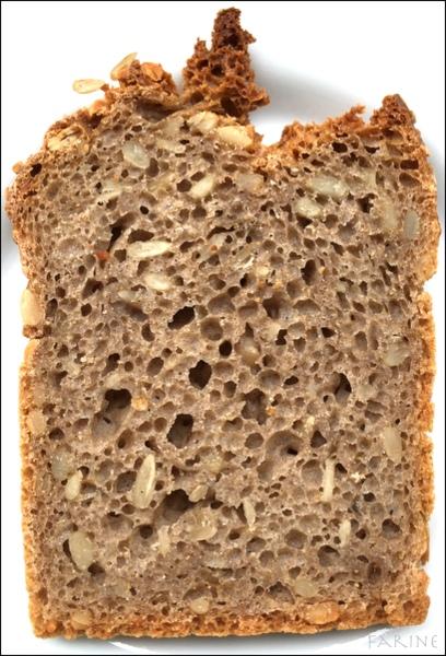 Sliced GF bread