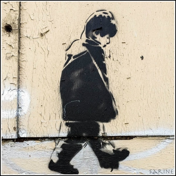 Icy and Sot Walking Alone Stencil