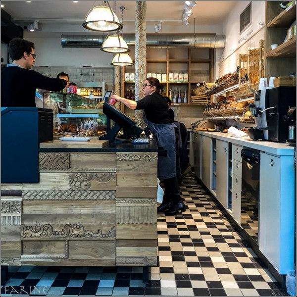 Inside Panifica Bakery