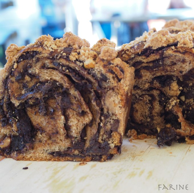 Whole-grain babka
