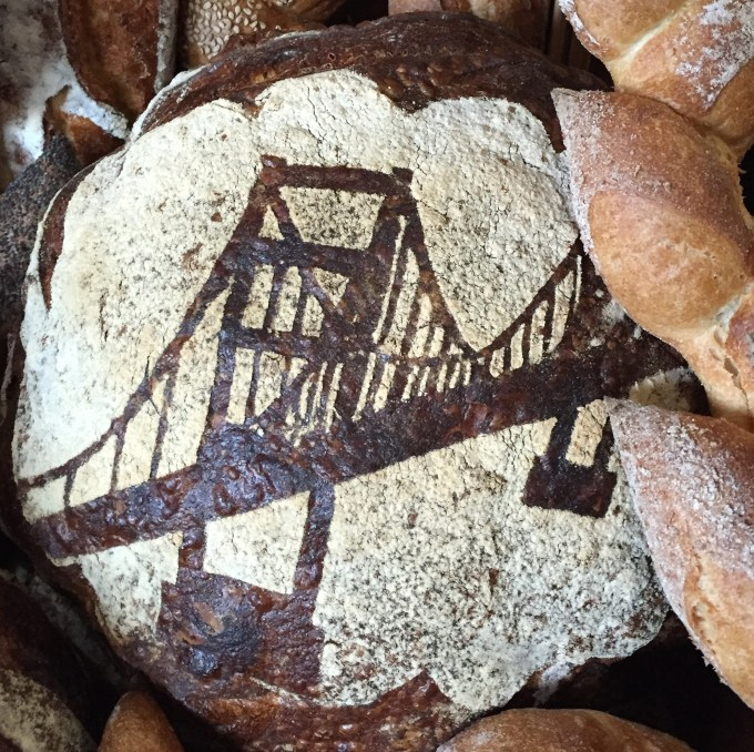 Golden Gate stencil