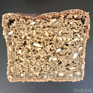 Nordic Whole-Grain Rye (a New York Times recipe): Takes One and Two