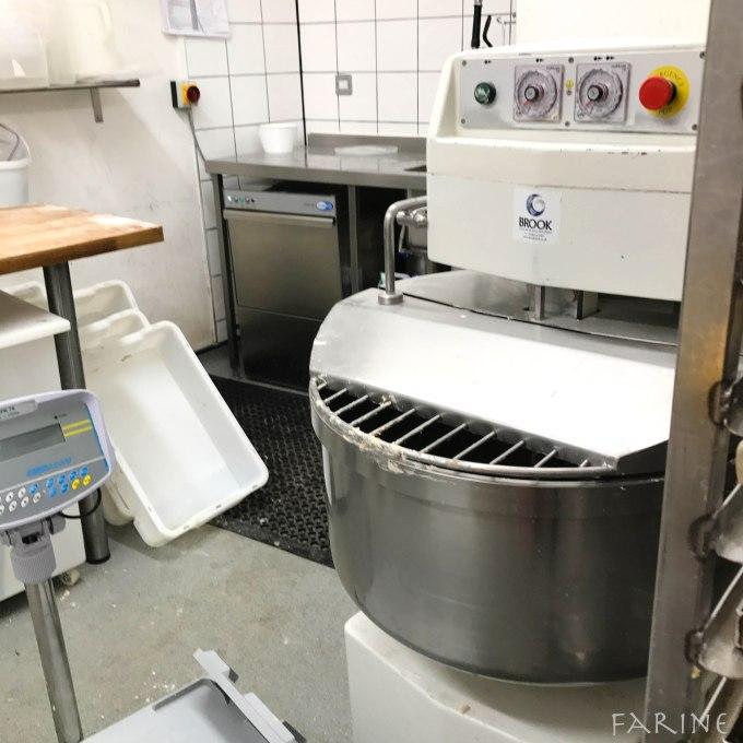 Mixer at Margot Bakery