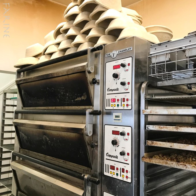 The oven at Margot Bakery
