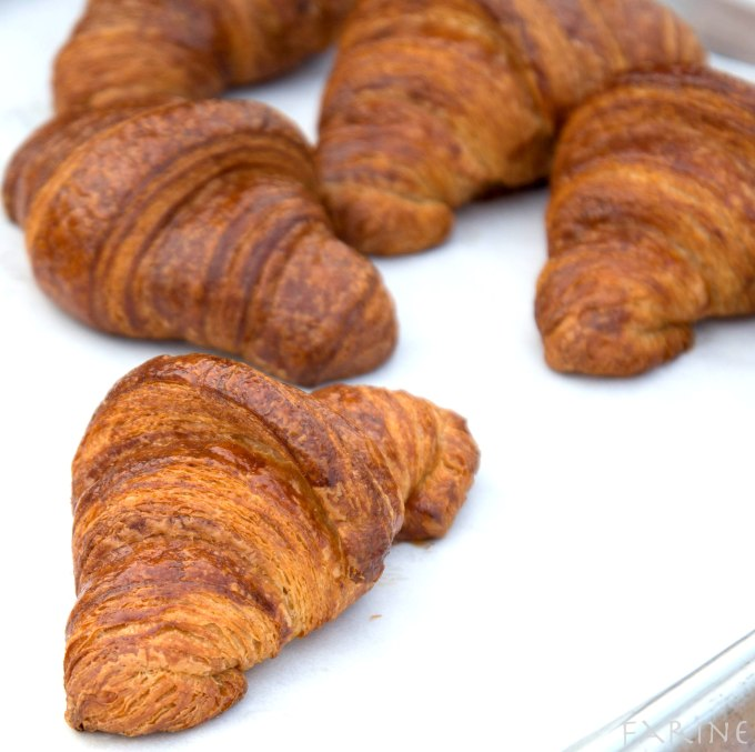 Whole-wheat croissants