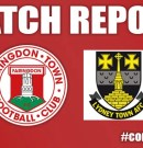 Match Report – Lydney Town v Faringdon Town – 7th October 2017