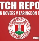 Match Report – Saxton Rovers v Faringdon Town FC