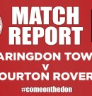 Match Report – Faringdon Town v Bourton Rovers