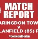 Match Report – Faringdon Town v Clanfield (85) FC