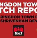 Match Report – Faringdon Town v Shrivenham Dev'